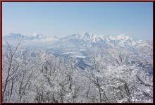 ロフトで綴る山と山スキー-山頂より妙高方面