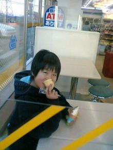 ソフトクリーム妹