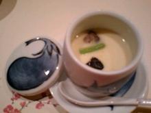 烏丸,梅の花,野菜と豆乳のしゃぶ膳,茶碗蒸し,蒸物