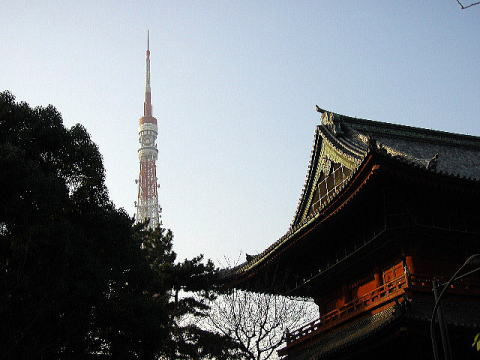 tokyotower&temple