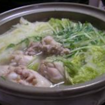 白菜と鶏肉の塩鍋。