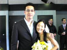 chris wedding