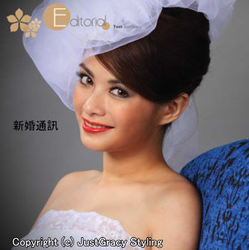 花嫁のヘアスタイル香港☆8