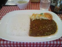 キーマカレー&サラダ + スープ