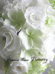 Plumerry(プルメリー)プリザーブドフラワースクール (千葉・浦安校)-プルメリア ブーケ プリザーブドフラワー