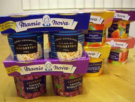 フランスの乳製品、Mamie Nova