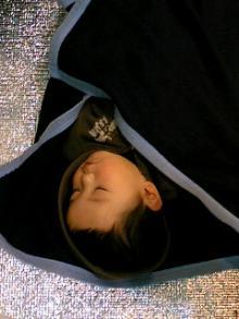 寝てるオウジ