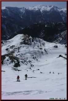 ロフトで綴る山と山スキー-最後の斜面