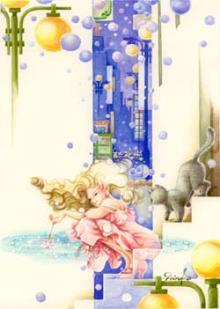 「冬の花火」挿絵