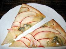 りんごのピザ