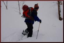 ロフトで綴る山と山スキー-取り付き