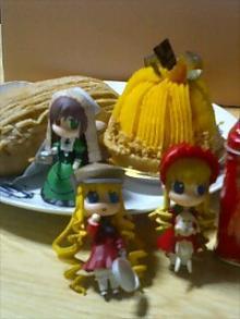かぼちゃケーキとTAWARA