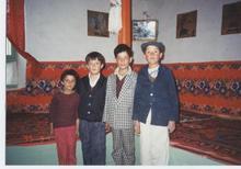 タジク族の家