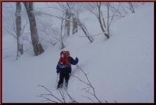 ロフトで綴る山と山スキー-深雪ラッセル