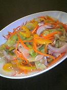 青唐辛子サラダ