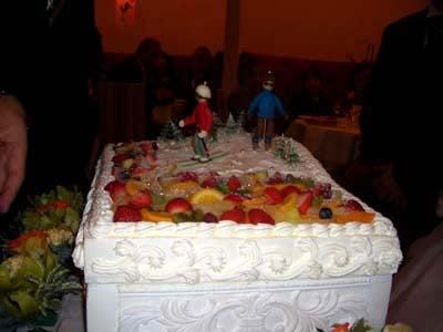 ゲレンデウエディングケーキ