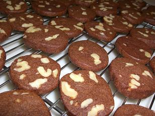 チョコくるみクッキー