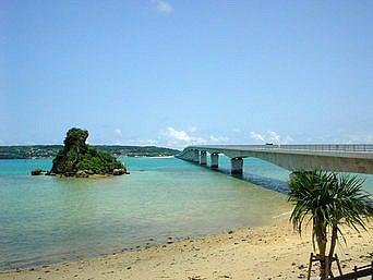 古宇利大橋(晴れ)