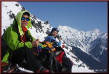 ロフトで綴る山と山スキー-腹ごしらえ