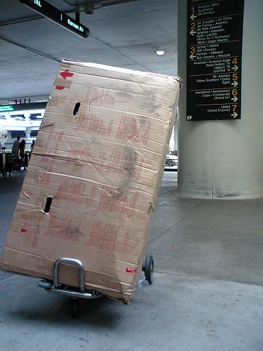 arrive L.A. !!