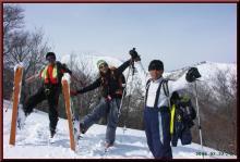 ロフトで綴る山と山スキー-1738m峰