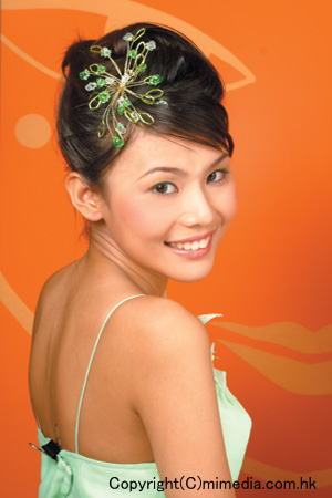 花嫁のヘアスタイル香港☆5