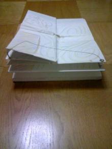 縦と横にめくる絵本(仕組み1)1998~1999年