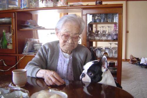おばあちゃんとブンタ
