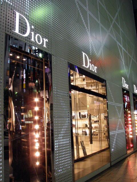 Dior window