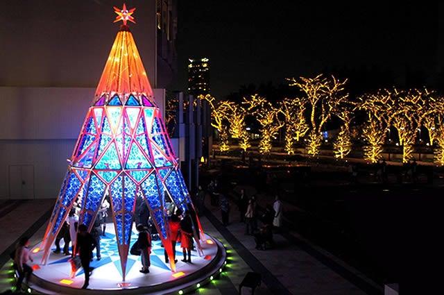 クリスマスデート ミッドタウンのイルミネーション