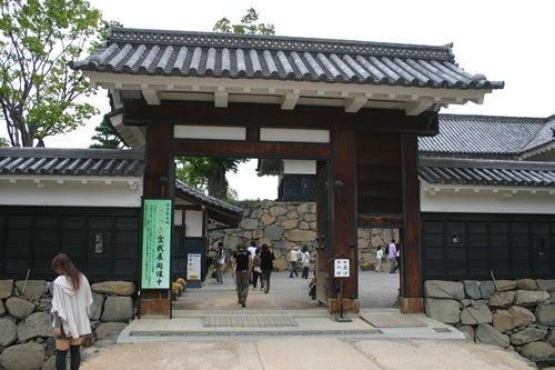 松本城 黒門
