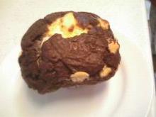 チョコ&クリームチーズマフィン