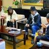 佐々木敬子さん(カリスマスタイリスト)が市長室に!!!!。の画像