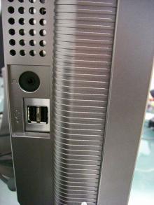 HD2452W左側面拡大
