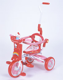 折りたたみ三輪車