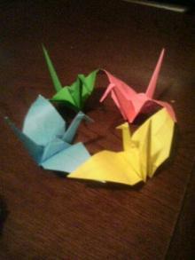 四つ折り鶴