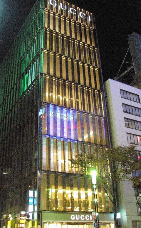 GUCCI銀座ビル