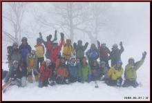 ロフトで綴る山と山スキー-記念撮影