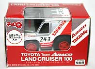 TAKARA ChoroQ Team ARACO LAND CRUISER 100