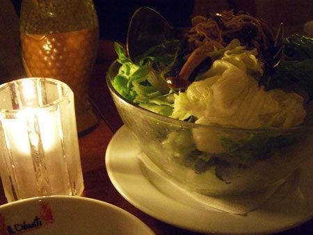 Campbell, CA ~ベイエリアでの暮らし~-ドレッシングが美味しいサラダ