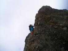 ドーム登攀中の岩田02