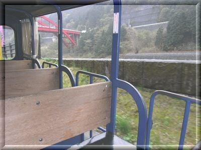 足尾銅山トロッコ電車