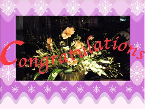 flowers congraturations9