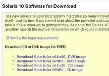 Solaris10 DownloadCenter - 1