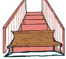 escalera y sillon