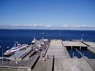 海の向こうはフィンランド タリン港