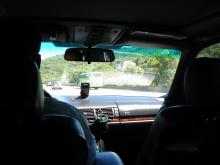 台湾タクシーの運転