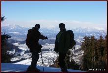 ロフトで綴る山と山スキー-トップにて