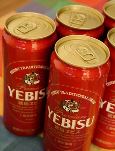 YEBISU ビール/琥珀ヱビス