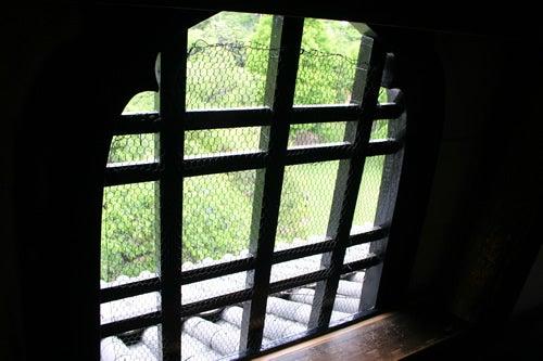 松本城 花頭窓